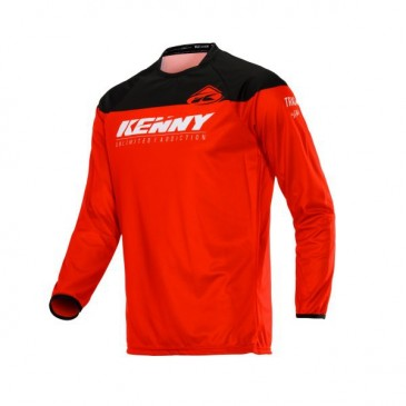 MAILLOT ENFANT KENNY TRACK RAW ROUGE
