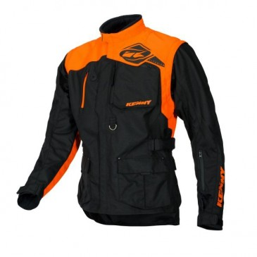 VESTE KENNY TITANIUM NOIR/ORANGE