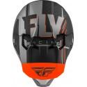 CASQUE FLY FORMULA CARBON VECTOR ORANGE/GRIS/NOIR