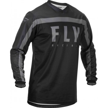 MAILLOT FLY F-16 NOIR/GRIS