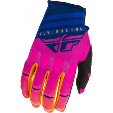 GANTS FLY KINETIC K220 MIDNIGHT/BLEU/ORANGE