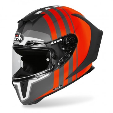 CASQUE ROUTE AIROH GP 550 SKYLINE ORANGE MAT