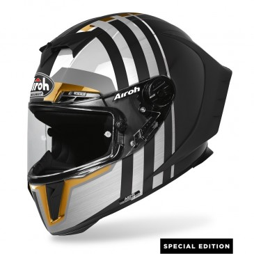 CASQUE ROUTE AIROH GP 550 SKYLINE GOLD
