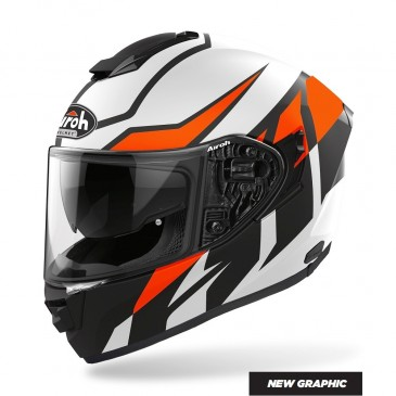 CASQUE ROUTE AIROH ST 501 FROST ORANGE MAT