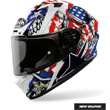 CASQUE ROUTE AIROH VALOR UNCLE SAM MAT