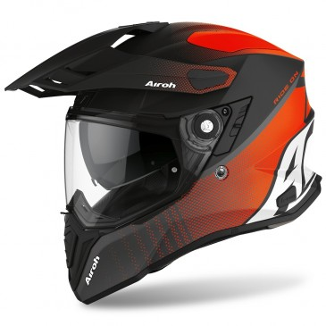 CASQUE AIROH COMMANDER PROGRESS ORANGE MAT