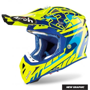 CASQUE AIROH AVIATOR 2.3 AMS² REPLICA CAIROLI 2020 CHROME