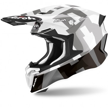 CASQUE AIROH TWIST 2.0 FRAME GRIS BRILLANT