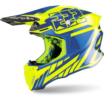 CASQUE AIROH TWIST 2.0 REPLICA CAIROLI 2020 BRILLANT