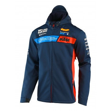 VESTE TROY LEE DESIGN / KTM TEAM PIT NAVY 2020