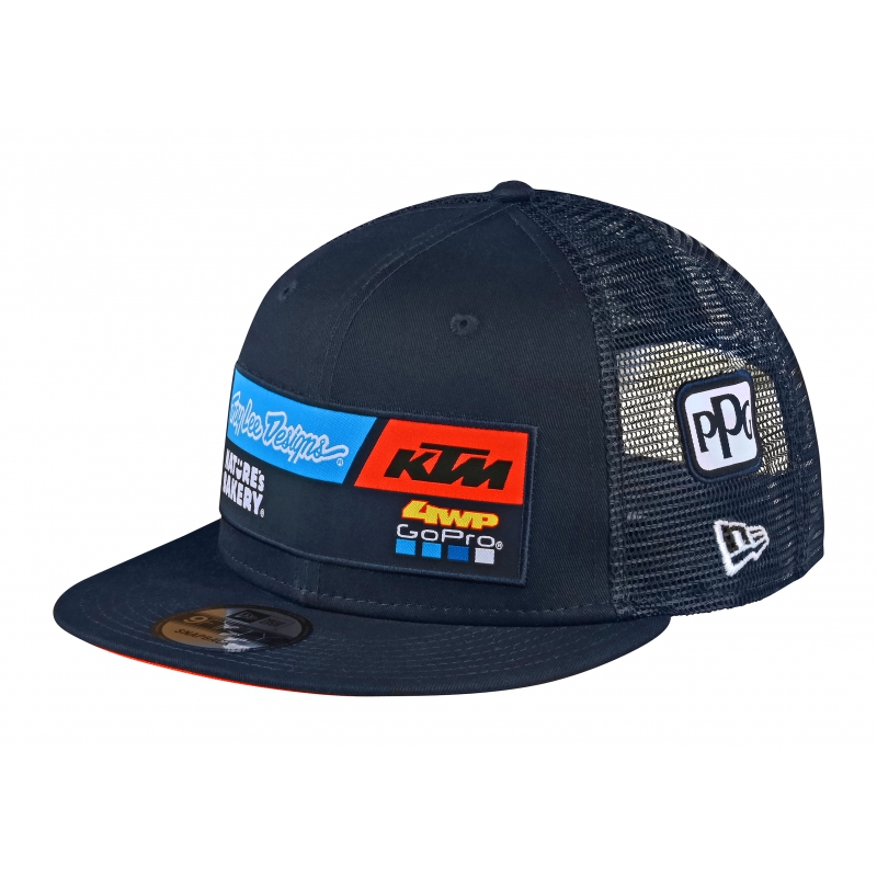 CASQUETTE AMERICAINE BLEUE TROY LEE DESIGNS 2020