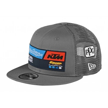 CASQUETTE AMERICAINE GRISE TROY LEE DESIGNS 2020