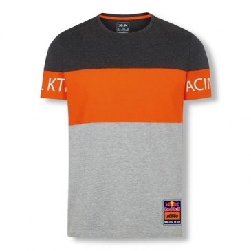 T-SHIRT RED BULL/KTM LETRA BLOCK