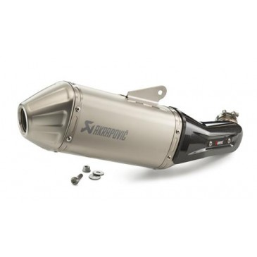 SILENCIEUX AKRAPOVIC SLIP-ON LINE POUR 390 ADVENTURE