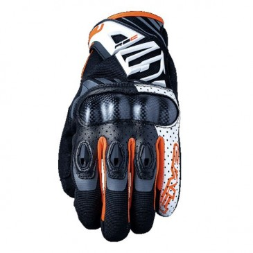 GANTS FIVE5 RS-C BLANC/ORANGE FLUO XXL/12