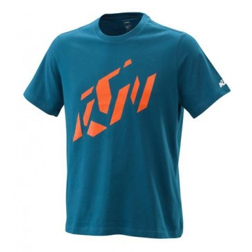 TEE SHIRT KTM RADICAL SLICED BLEU