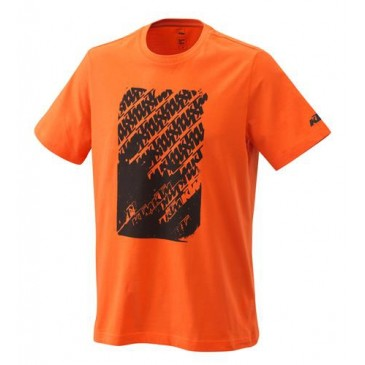 TEE SHIRT KTM RADICAL LOGO ORANGE