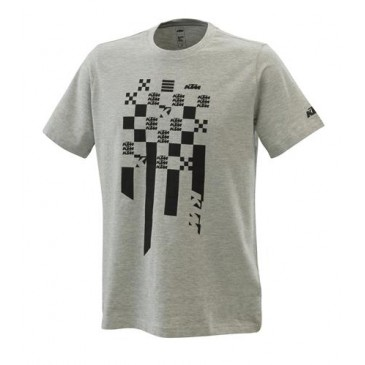 TEE SHIRT KTM RADICAL SQUARE GRIS