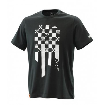 TEE SHIRT KTM RADICAL SQUARE NOIR