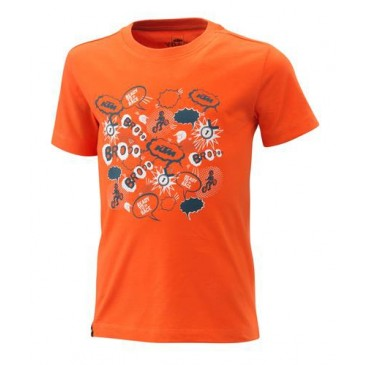 TEE-SHIRT ENFANT KTM RADICAL ORANGE