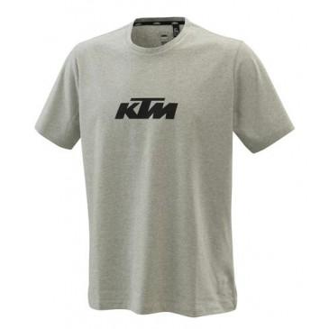 TEE-SHIRT KTM PURE LOGO GRIS CHINE