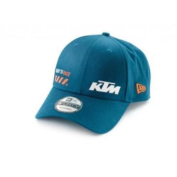 CASQUETTE KTM PURE BLEUE