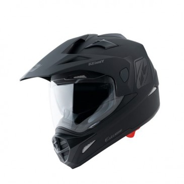 CASQUE KENNY EXTREME SOLID NOIR MAT