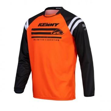 MAILLOT KENNY TRACK RAW ORANGE FLUO