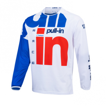 MAILLOT PULL IN ENFANT CHALLENGER RACE BLANC/ROUGE