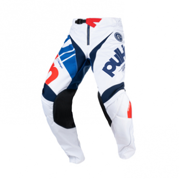 PANTALON PULL-IN ENFANT CHALLENGER RACE BLANC/ROUGE