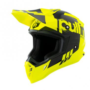 CASQUE PULL-IN RACE JAUNE FLUO/NOIR