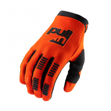 GANTS PULL-IN ENFANT CHALLENGER ORANGE FLUO