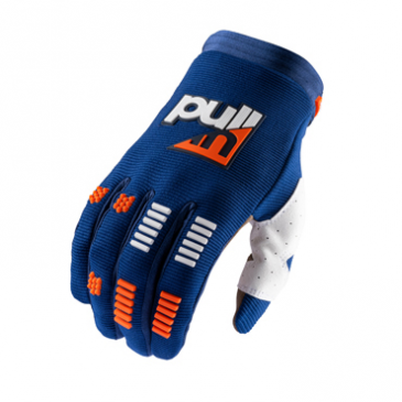 GANTS PULL-IN ENFANT CHALLENGER NAVY/ORANGE