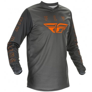 MAILLOT FLY F-16 2021 GRIS/ORANGE