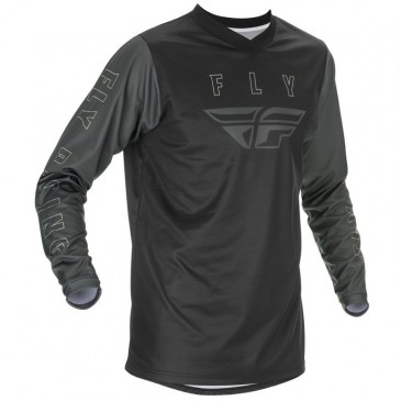 MAILLOT FLY F-16 2021 NOIR/GRIS