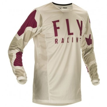 MAILLOT FLY KINETIC K221 2021 STONE/BERRY