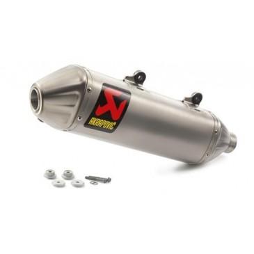 SILENCIEUX  AKRAPOVIC SLIP-ON POUR 350 / 450 SX- 16/18 ET 450 / 500 EXC-F 17/19