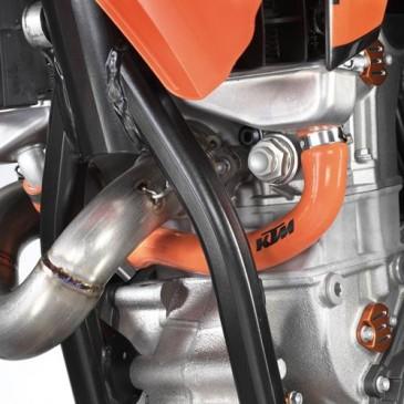 DURITE DE RADIATEUR ORANGE KTM POUR 250 SX-F 11/12