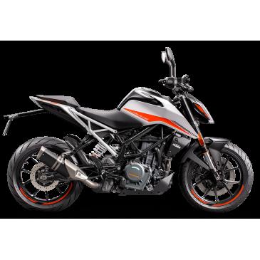KTM 390 DUKE 2021 BLANC