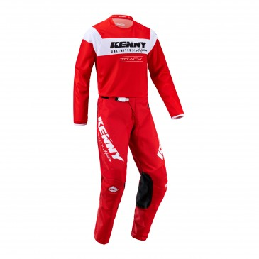 TENUE KENNY TRACK RAW ROUGE