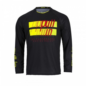MAILLOT PULL-IN ENFANT MASTER KID JAUNE FLUO