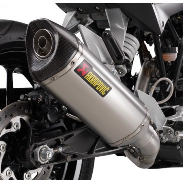 SILENCIEUX AKRAPOVIC SLIP ON 125/200/390 CC