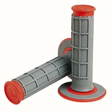 ***JEU DE POIGNEES RENTHAL GRIS/ORANGE