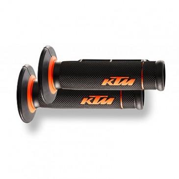 POIGNEE C/C KTM 2K ORG/NOIR PERCEE
