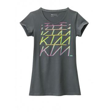 TEE SHIRT FEMME KTM V-NECK