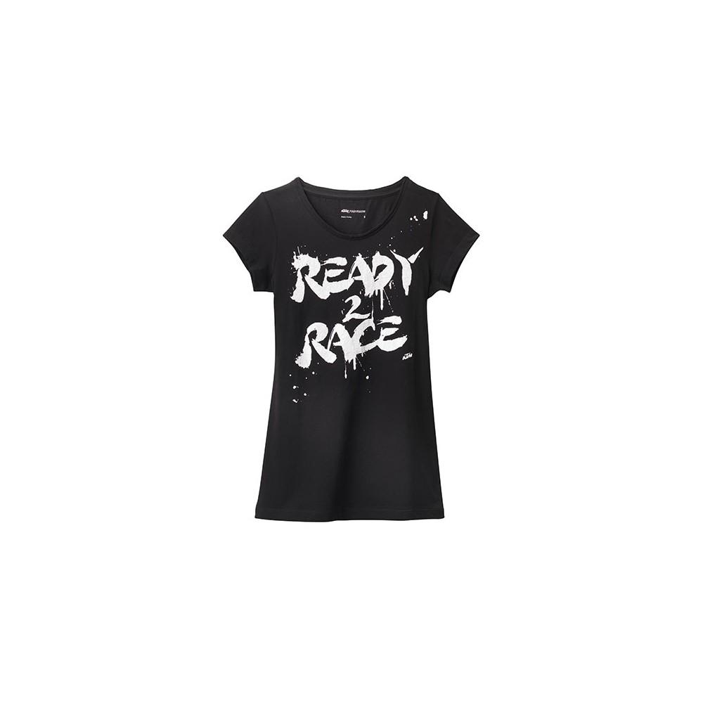 Tee Shirt Ktm Ready To Race Tee Shirt Wolff Ktm