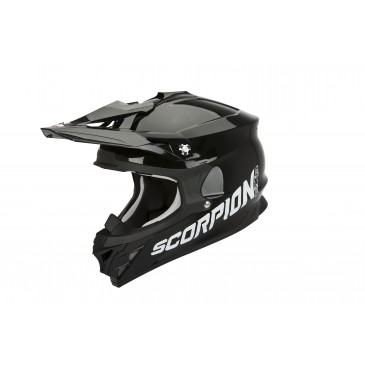 CASQUE SCORPION VX-15 EVO AIR SOLID NOIR