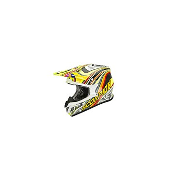 CASQUE SCORPION VX20 AIR SYM JAUNE/MULTICOLORE