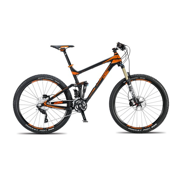 VELO KTM LYCAN 272 30S NOIR/ORANGE 2015