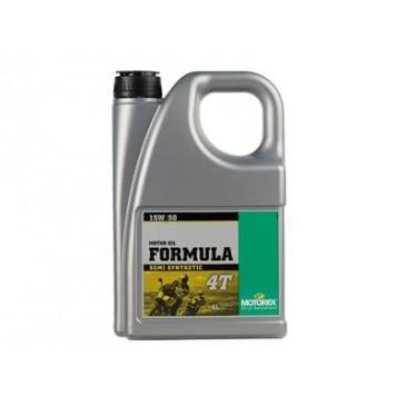 HUILE MOTOREX FORMULA 4T  15W50